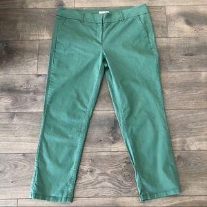 Ann Taylor Loft Green Pants